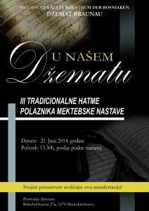 POZIVNICA - III Tradicionalne Hatme PMN